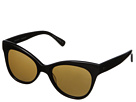 KAMALIKULTURE Square Cat Eye Sunglasses (Chocolate/Brown)