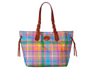 Dooney & Bourke Madras Nylon Shopper
