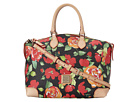 Dooney & Bourke Coated Cotton Rose Garden Satchel