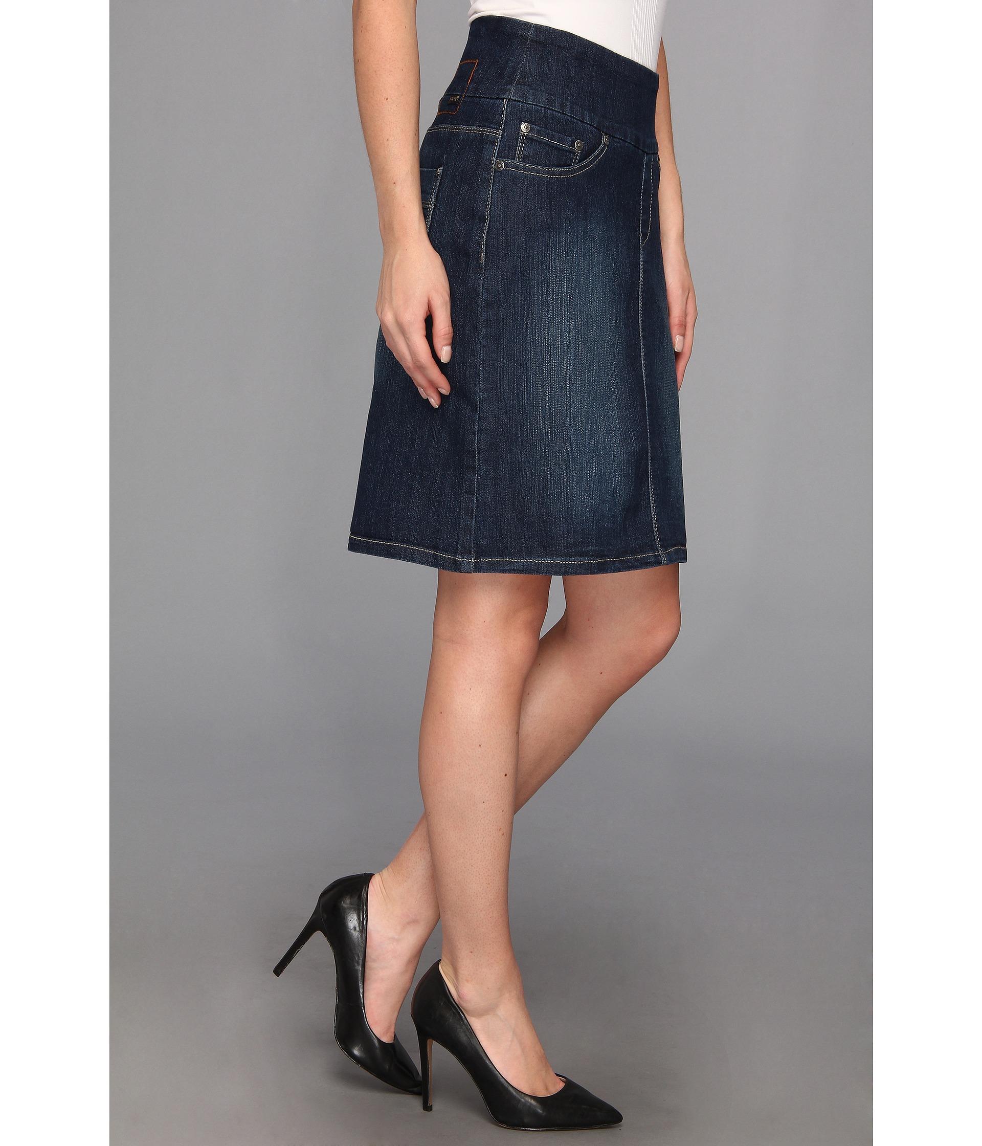 jag eloise skirt anchor blue clothing shipped
