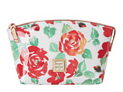 Dooney & Bourke Plastic Rose Domed Zip Top Cosmetic Case
