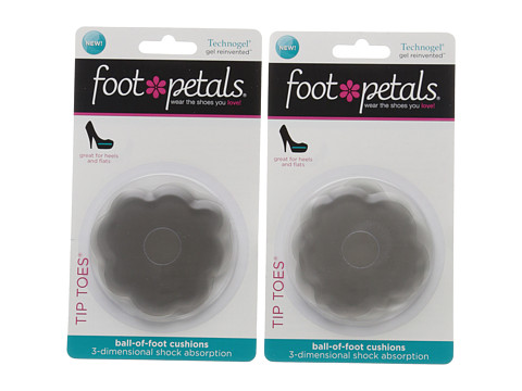 Foot Petals Tip Toes Technogel 2-Pair Pack