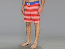 Sperry Top-Sider - Sailaway Stripe Boardshort (Ribbon Red) - Apparel