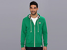 Sperry Top-Sider - Solid Zip Up Hoodie (Grass) - Apparel