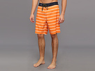 Sperry Top-Sider - Sailor Stripe Boardshort (Orange) - Apparel