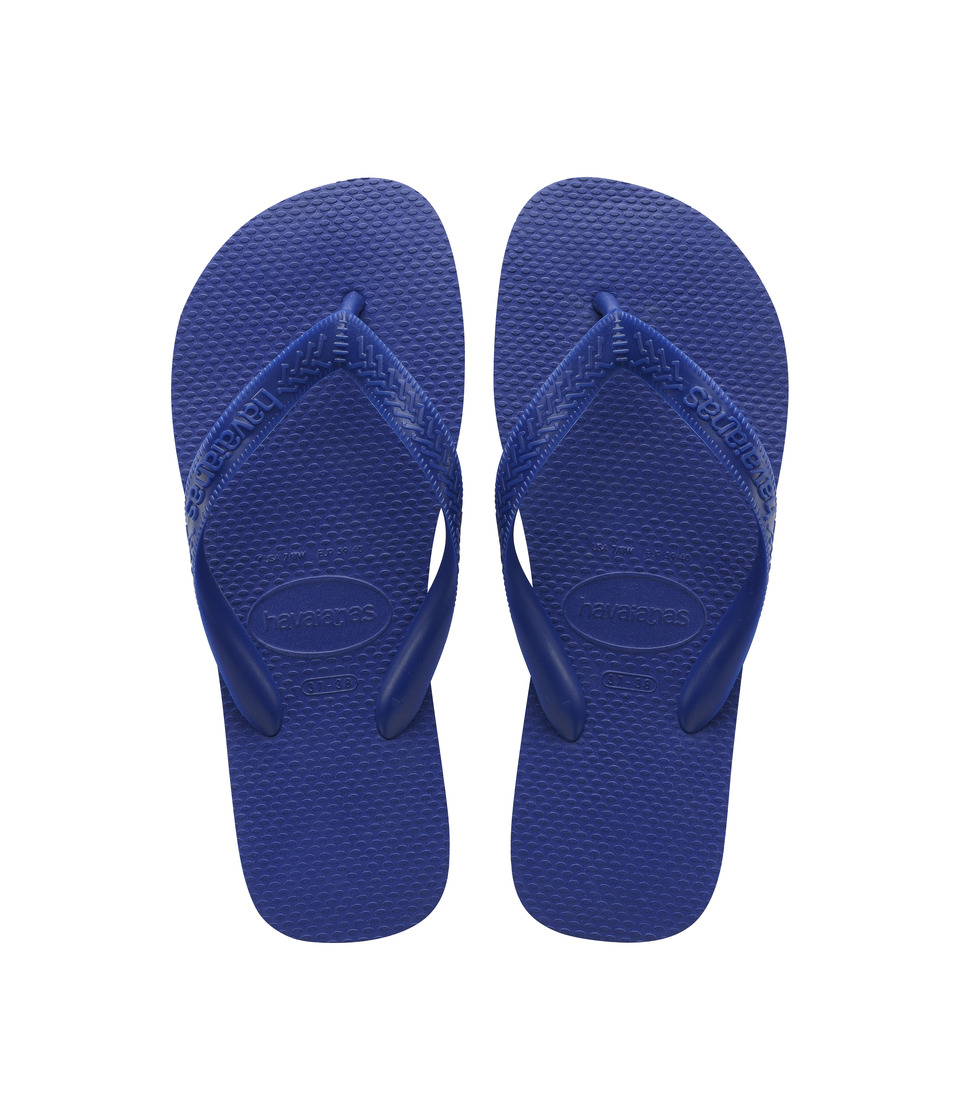 Havaianas Top Flip Flops (Marine Blue) Sandals