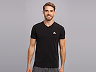 adidas - Ultimate Short-Sleeve V-Neck Tee (Black)