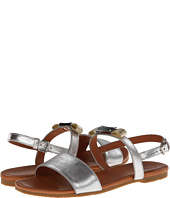 Marc by Marc Jacobs - Tuxedo Logo Plaque Flat Sandal