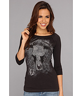 Rock and Roll Cowgirl - Juniors 3/4 Sleeve Top