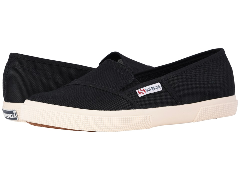 Superga 2210 COTW Slip On Black Womens Slip on Shoes