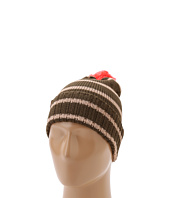 Sperry Top-Sider - Wool Blend Striped Watch Cap w/ Contrast Pom