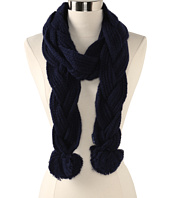 Sperry Top-Sider - Single Braid Scarf w/ Poms