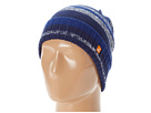 Sperry Top-Sider - Marled Stripe Watch Cap (Blue) - Hats
