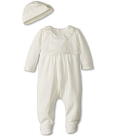 Chloe Kids - Baby Bonnet And Rickrack Finish Footie In A Box Set (Infant)