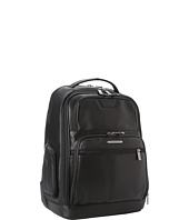 Briggs & Riley - @ Work Medium Leather Backpack