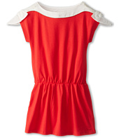 Chloe Kids - Jersey Dress with Bows On Shoulders (Little Kids/Big Kids)