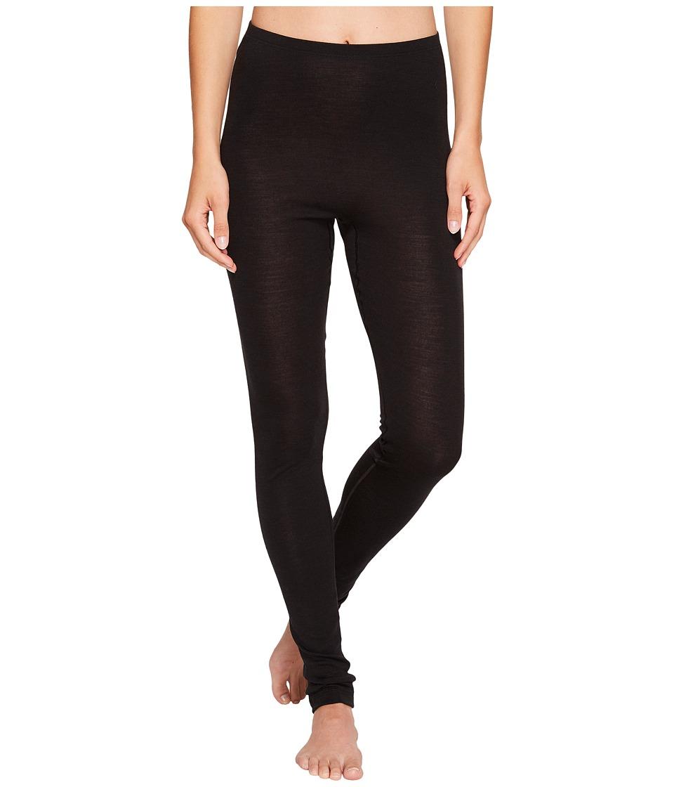 Hanro Woolen Silk Pant 1422 (Black) Women's Underwear