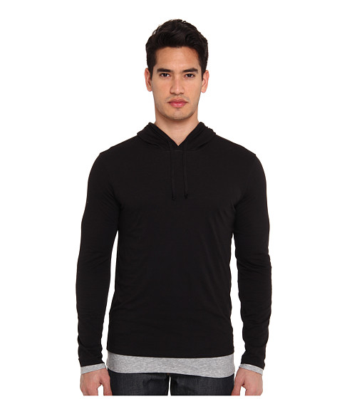 Vince Double Layer Cotton Hoodie