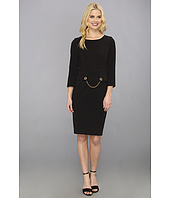 Badgley Mischka - Toggle 3/4 Sleeve Dress
