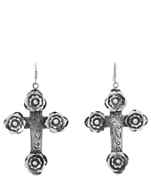 Gypsy SOULE - Rose Cross Earrings