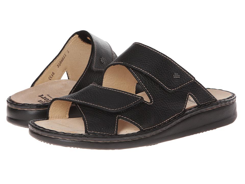 Finn Comfort Danzig 81529 Black Bison Mens Shoes