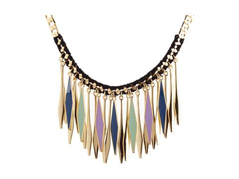 BCBGeneration - Decidedly Pastel Necklace (New Gold/Black/Denim/Lilac/Seafoam) - Jewelry