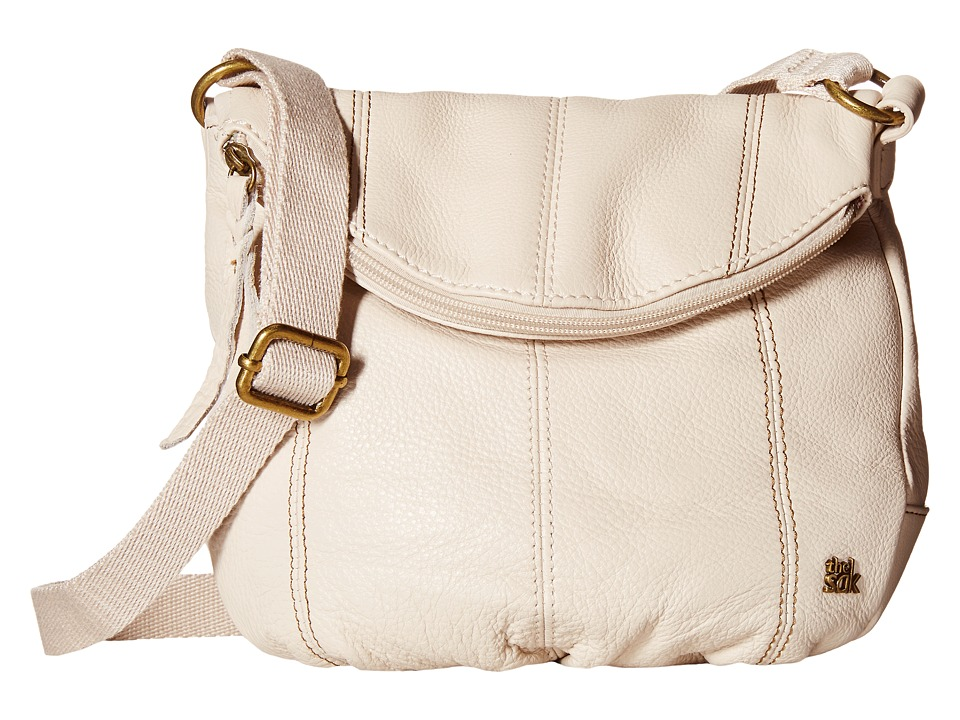 The Sak - Deena Crossbody Flap (Stone) Cross Body Handbags