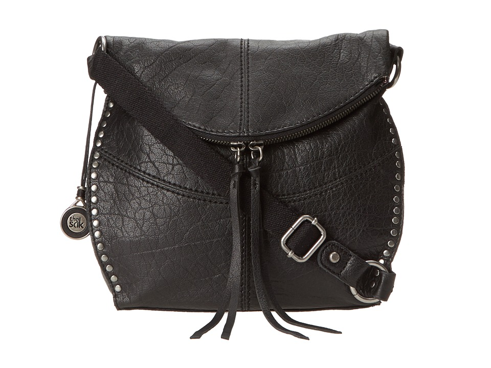 The Sak - Silverlake Crossbody (Black) Cross Body Handbags
