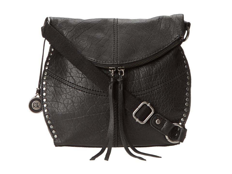 The Sak - Silverlake Crossbody (Black) Cross Body Handbags