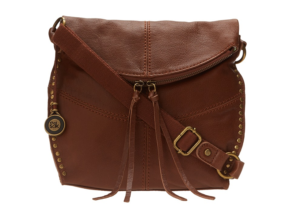 The Sak - Silverlake Crossbody (Tobacco) Cross Body Handbags