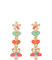 Kate Spade New York - Giverny Floral Linear Earrings