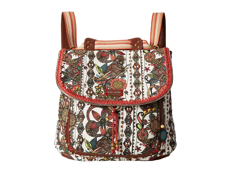 Sakroots - Artist Circle Convertible Backpack (Natural Spirit Desert) Backpack Bags