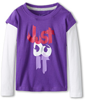Nike Kids - Just Do It™ 2-Fer Tee (Toddler)