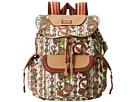 Sakroots Sakroots Artist Circle Flap Backpack (Natural Spirit Desert)