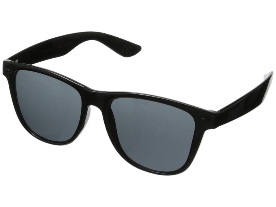 Neff Daily Shades Gloss Black Sport Sunglasses
