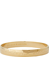 Kate Spade New York - Maid of Honor Engraved Idiom Bangle