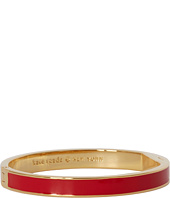 Kate Spade New York - Paint the Town Red Hinged Idiom Bangle