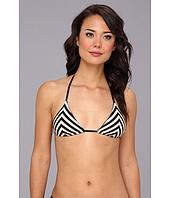 Vitamin A Swimwear - Natalie Miter Stripe Halter Top