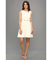 Jessica Simpson - Raglan Fit & Flare Dress w/ Contrast Panels