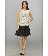 Jessica Simpson - Sleeveless Fit & Flare Dress w/ Back Cutout