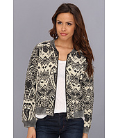Free People - Printed Quilted Bomber