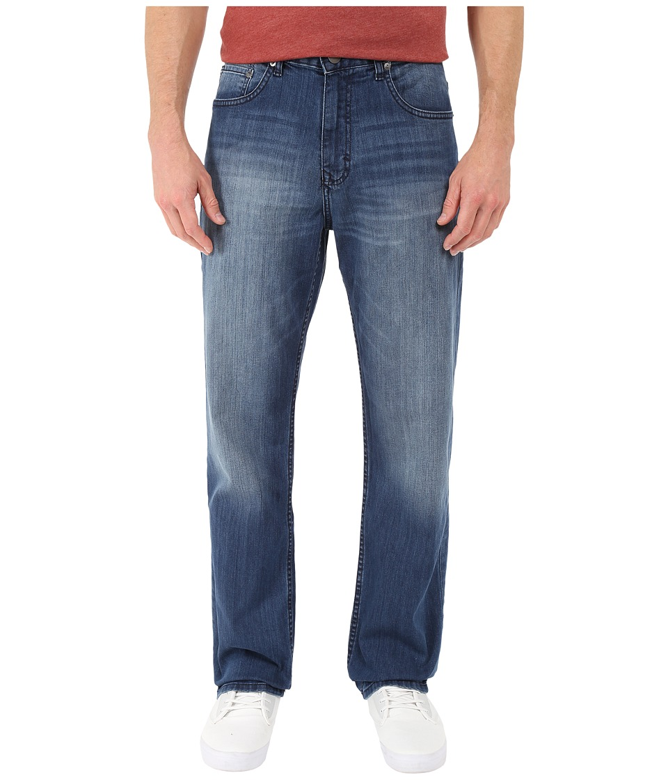 Calvin Klein Jeans Relaxed Straight Jean in Cove Wash (Cove) Men