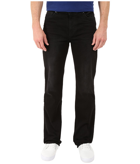 Calvin Klein Jeans Straight Denim in Worn in Black - Worn In Black