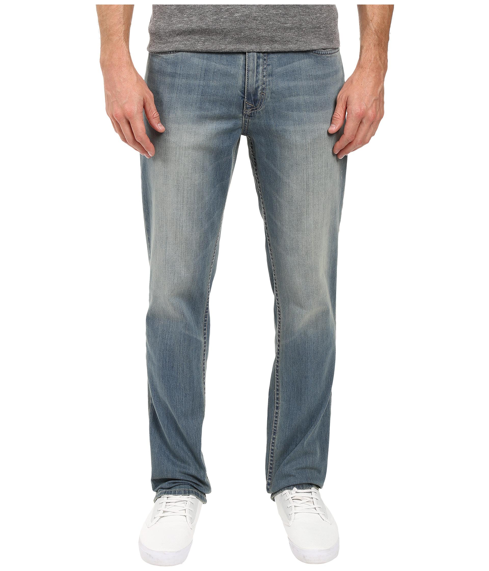 calvin klein jeans slim straight denim in silver bullet at. Black Bedroom Furniture Sets. Home Design Ideas