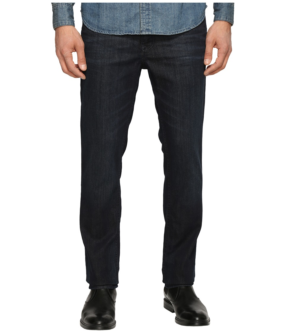 Calvin Klein Jeans - Slim Straight Denim in Osaka Blue (Osaka Blue) Mens Jeans