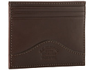 Filson Money Clip with Credit Card Case (Brown)