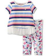 Juicy Couture Kids - Striped S/S 2-Piece Set (Newborn/Infant)