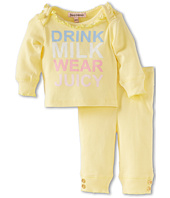 Juicy Couture Kids - Logo Loungewear Set (Infant)