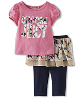 Juicy Couture Kids - 2 Piece Skirted Legging Set (Infant)