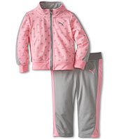 Puma Kids - Printed Colorblock Tricot Set (Infant)